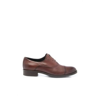 Genuine Leather Brown Leather Men Shoes54141A24 E18S1AY54141