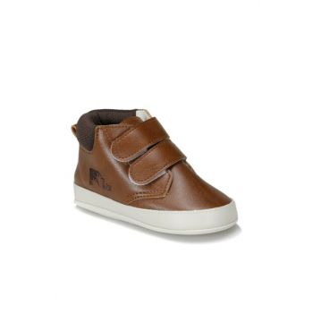 BATTY 9PR Brown Boy Walking Shoes
