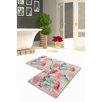 Flamenco Djt 2 Li Set Bath Mat, Doormat 8682125932729