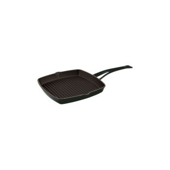 Cast Iron Grill Pan With Metal Handle 26x26 cm GT2626