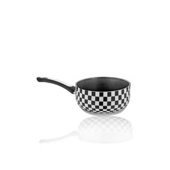 Royal 16cm Granite Checkers Milk Pot Sauce Pan 2019ST0001027