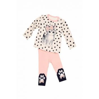 Powdered Girl Baby Cat Suit 10MAM536