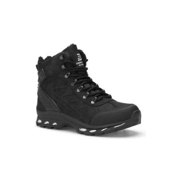 Black Unisex Outdoor Trekking Boots DS.1636