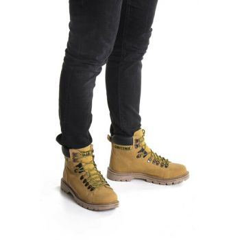 Yellow Men's Boots DPRMGMCNTR930