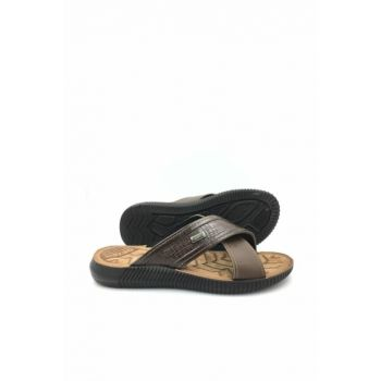 BROWN Men's Slipper gzr11584