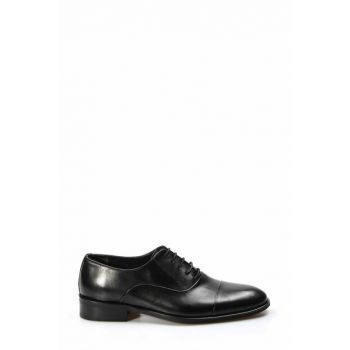 Genuine Leather Black Men Classic Shoes 1850113