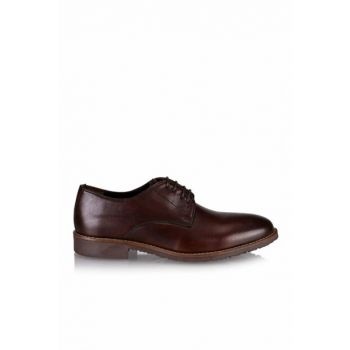 Genuine Leather Coffee Men Classic Shoes 02AYH125130A480