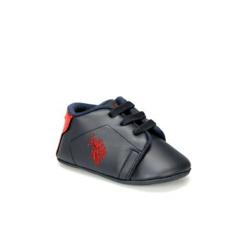 FRANCO 9PR Navy Boys Shoes