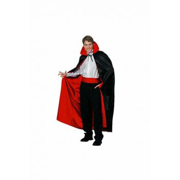 Halloween Double Sided Red Black Cloak 120cm 8681483699930