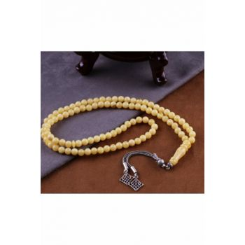 Spectacular Fragrant Beirut Amber Sphere Cut Rosary Beads15031915