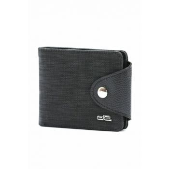 Men's Black Wallet (602-S) BD00528