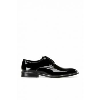 Genuine Leather Black Men Classic Shoes 02AYH139010A100