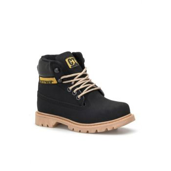 Black Unisex Kids Boots DS.921