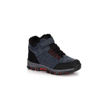 Navy Blue Men's Boots DPRMGJNR001