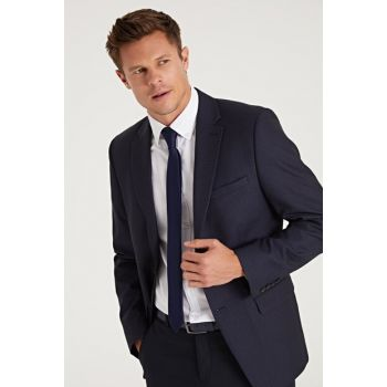 Men's Navy Blue Jacket 9W1955Z8