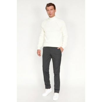 Men's Anthracite Trousers 9KAM49090VW