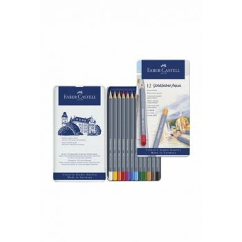Faber Castell Goldfaber Aquarel Crayons 12 Colors 259154