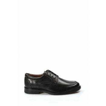 Genuine Leather Black Men Classic Shoes 1849856