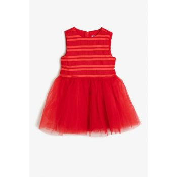 Red Girls' Dress 0KKG87004AW