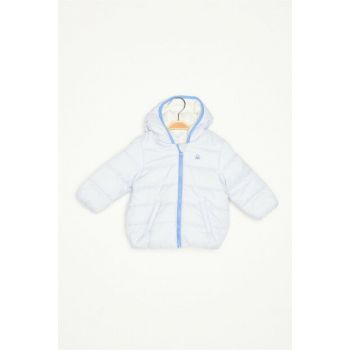 Childrens Bunny Logo Filled Coats 321832WU0534GE