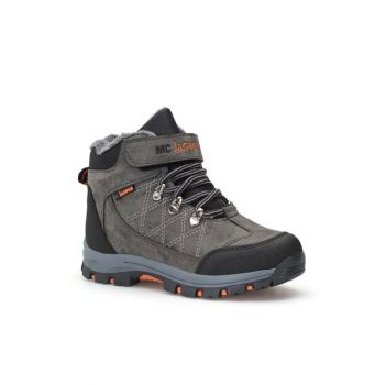 Black Smoked Unisex Kids Boots DS.1641