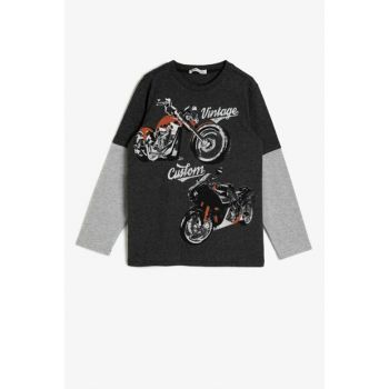 Gray Children's T-Shirt 0KKB16968OK