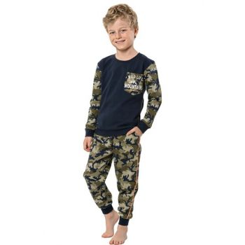 Boy Navy Blue Pajama Set 31639