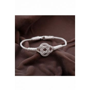 Casual Hand Wrapped Silver Bracelet 2088 344508