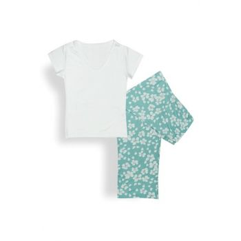Bloom Viscose Women's Sleepwear Set L Seledon 10025163