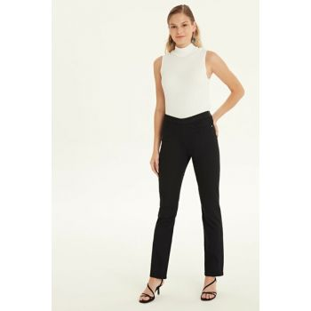 Women's New Black Pants 9WM634Z8