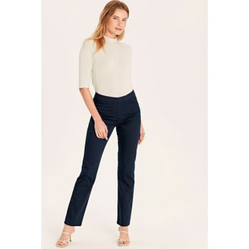Women's Navy Blue Pants 9WM634Z8