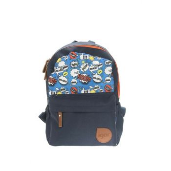 Navy Blue Children Mini Backpack W80303-01