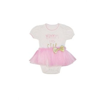 Pink Mummy'S Little Star Printed Body Body VIPPEMBE09