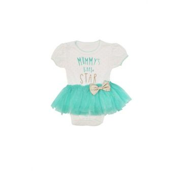Green Mummy'S Little Star Printed Body Body VIPYESIL12