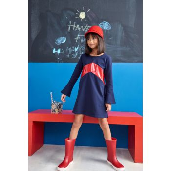 Red Children's Boots W10107-AW18 W10107-AW17