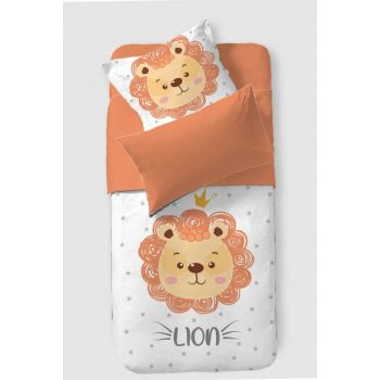 Baby Duvet Cover Set Lion 8681235015599