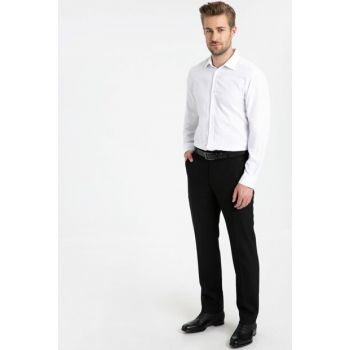 Men's Black Trousers 9W8102Z8