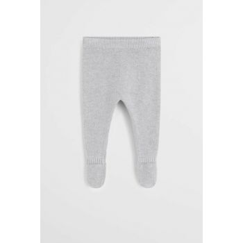 Medium Flecked Gray Unisex Baby Pants 57077697