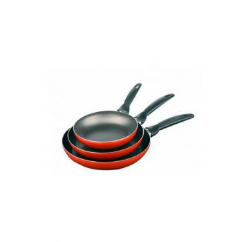 Set of 3 Pan Red 190568