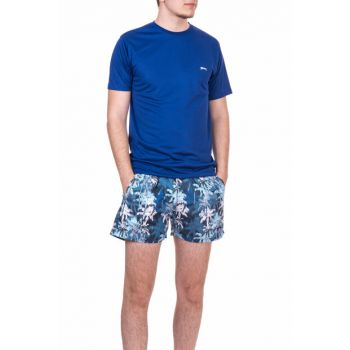 Men's Navy Blue Sea Short - Yaser - ST18SE030-400