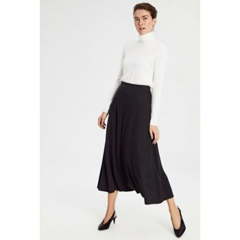 Women's Anthracite Melange Skirt 9W9109Z8