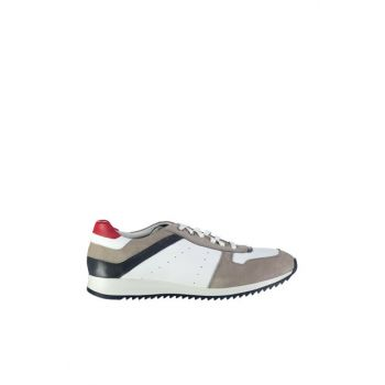 Genuine Leather White Men Shoes 02AYH118270A900
