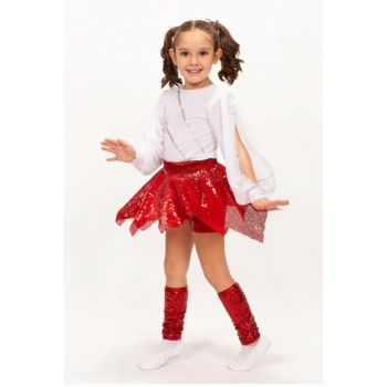 Modern Dance Set - Skirt Blouse Tights Md008 MD008