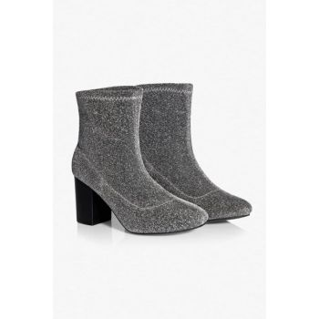 Women's Silver Boots & Bootie TW6180034086