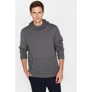 Men's Gray Sweater 9KAM91299NT
