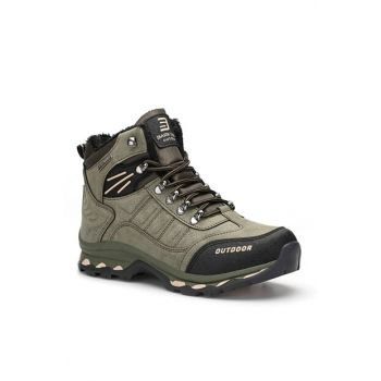 Black Khaki Unisex Outdoor Trekking Boots DS.1819