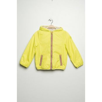 Yellow Unisex Children's Coat 09087132000000