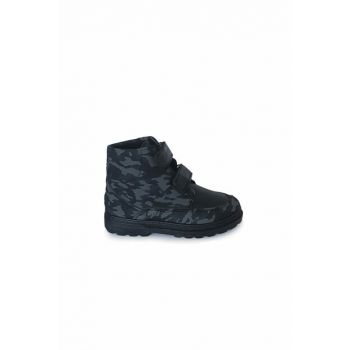 Black - Camouflage Unisex Children's Boots & Booties 1370.F.033