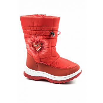 Red Children's Boots 1055.P.130