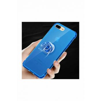 iPhone 8 Plus Stand Case Mill Silicone Magnet Cover Back Protection zo_T8849